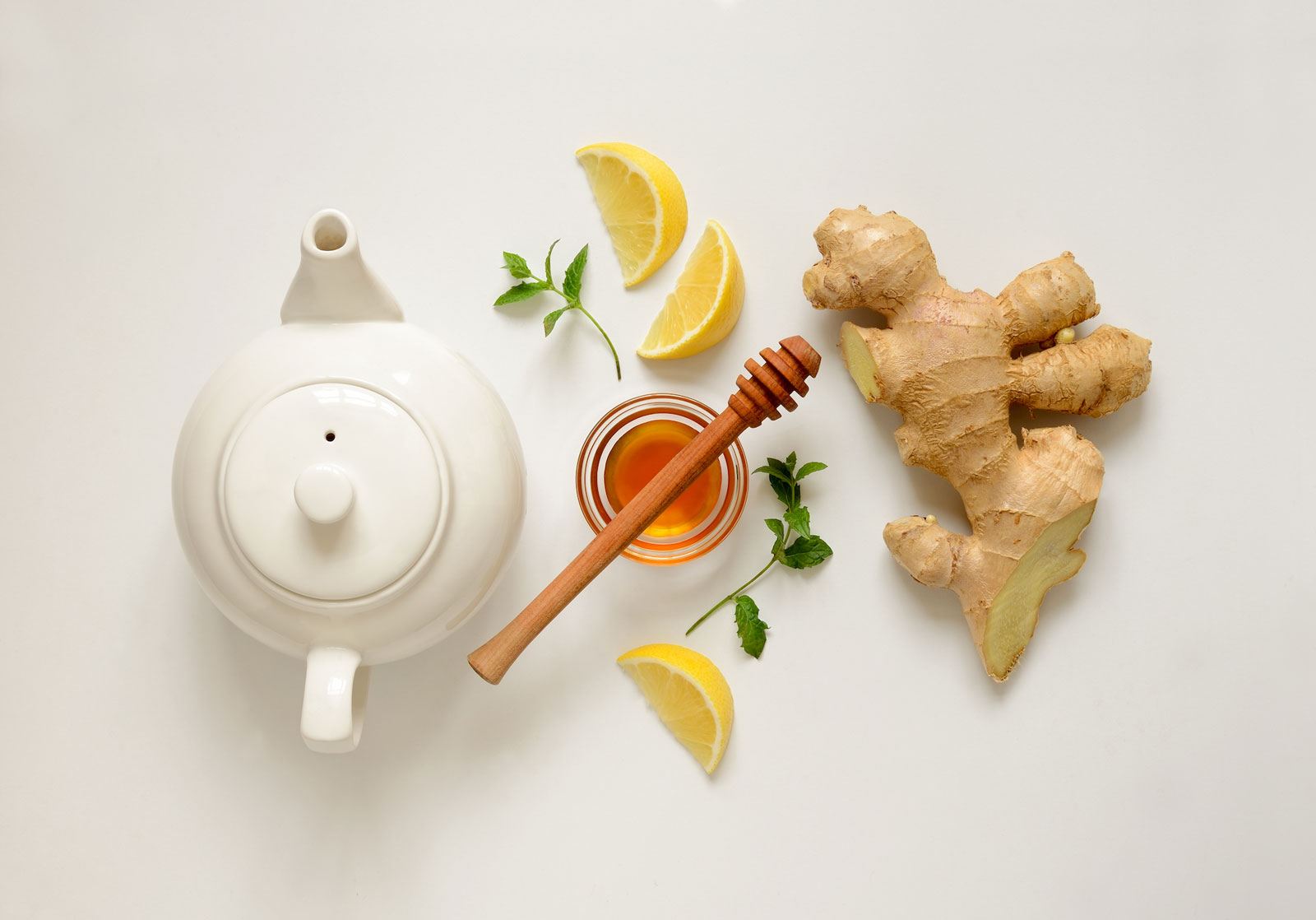 Ginger Tea Pot with Lemon | 3 Incredible Health Benefits of Ginger Tea