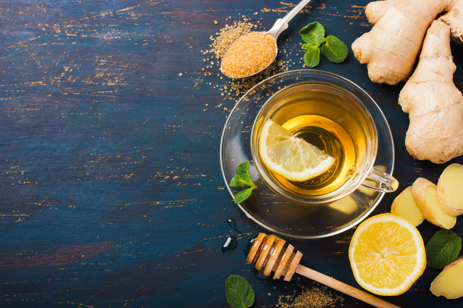 Ginger Tea With Lemon | How To Make Delicious Ginger Tea At Home