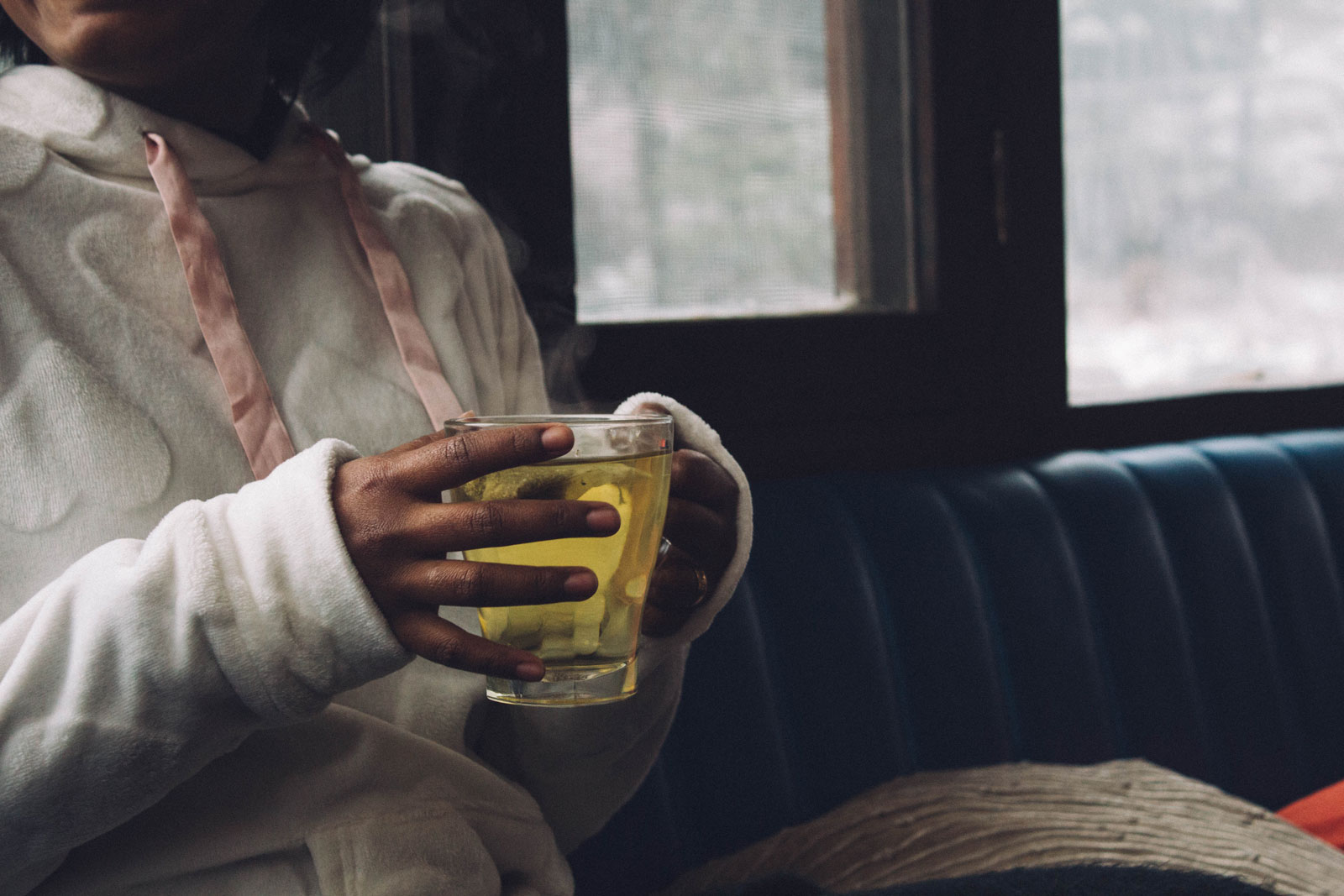 Woman Drinking Chamomile Tea | What Are The Proven Benefits of Chamomile Tea?