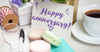 Happy Anniversary Note with Cookies | 10 Tea Gift Ideas, Perfect For Anyone Who Loves Tea