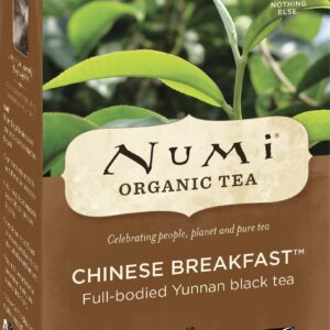 Numi Organic Tea Chinese Breakfast - Black Tea
