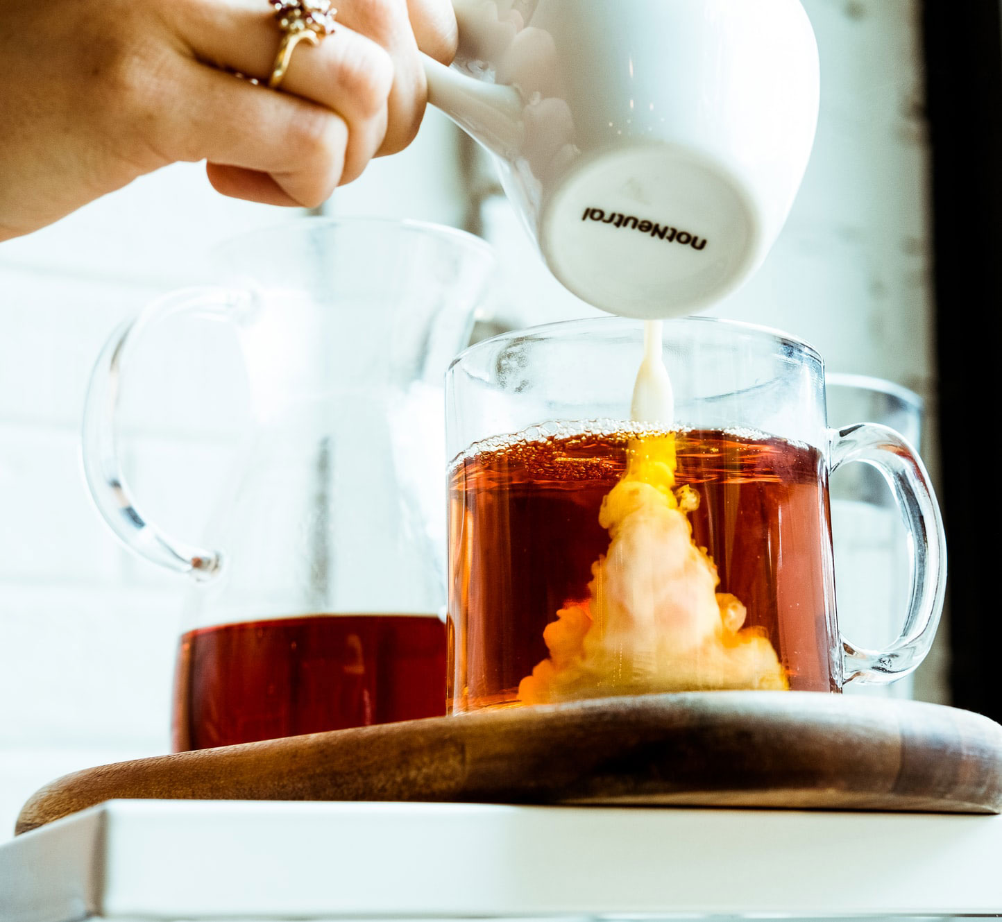 Cream Pouring on Tea | The Definitive Rules For Putting Milk In Tea