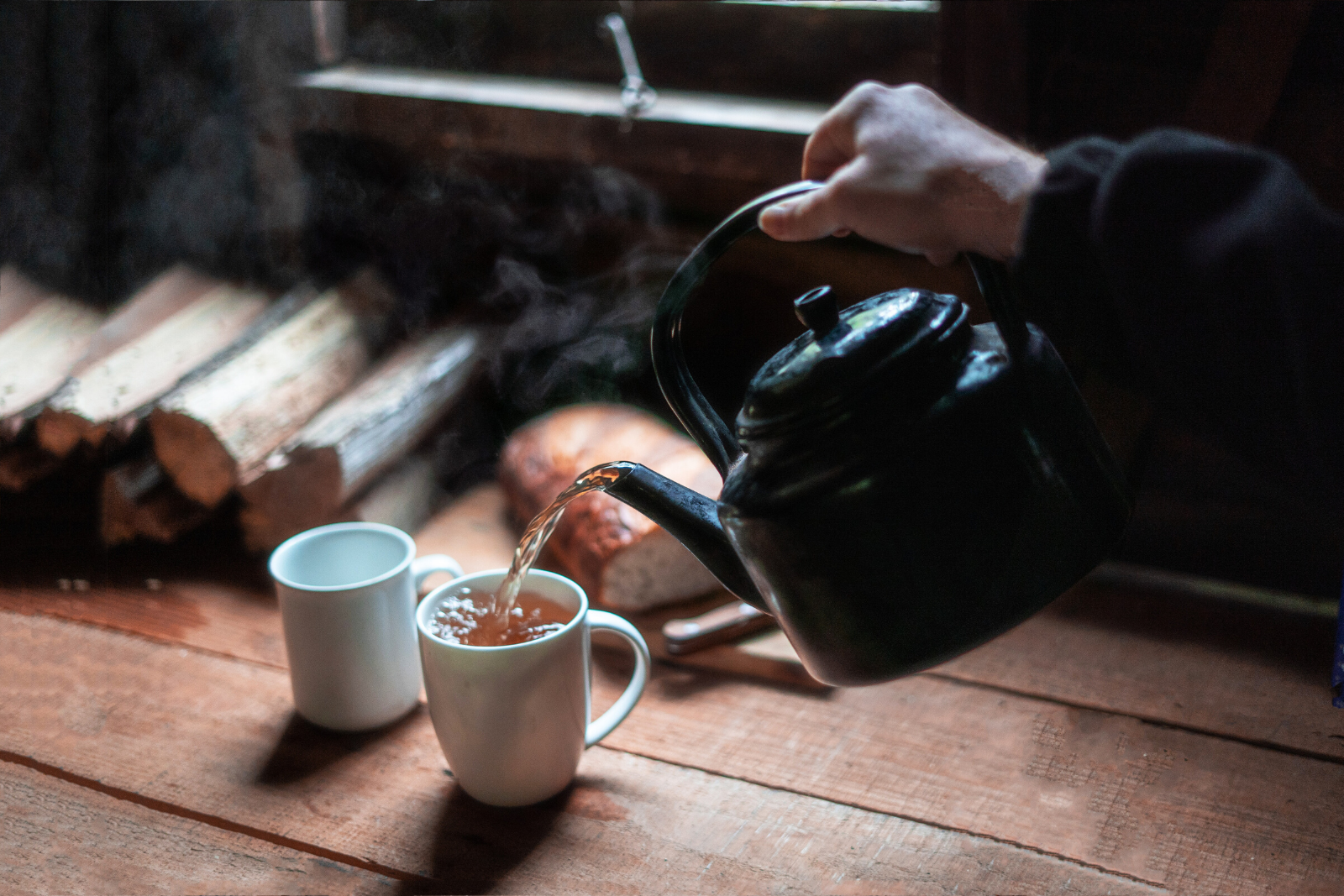 Man Pouring Tea | Enjoy The Perfect Cup: How To Brew Tea The Right Way
